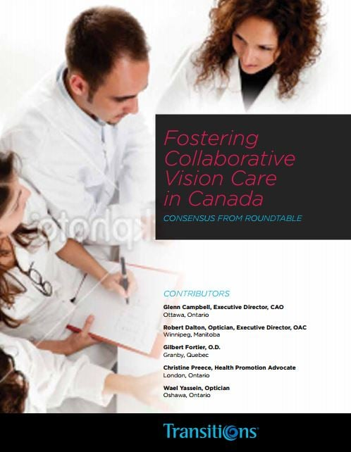 White Papers Fostering Collaborative Vision Care th